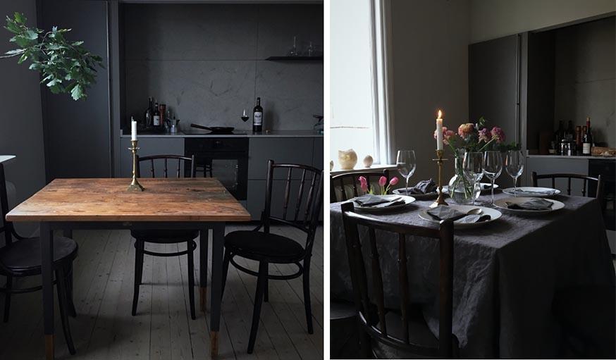 16 idées déco tendance pour une cuisine noire ou blanche