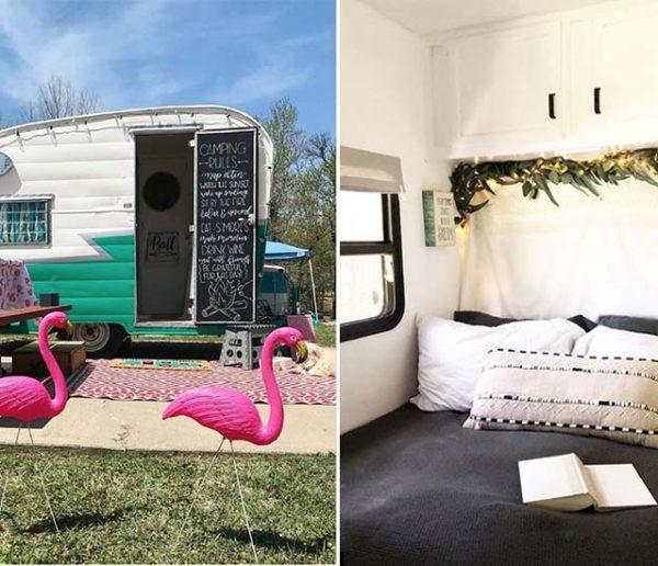 Idées déco : voici les 14 plus belles caravanes repérées sur Instagram