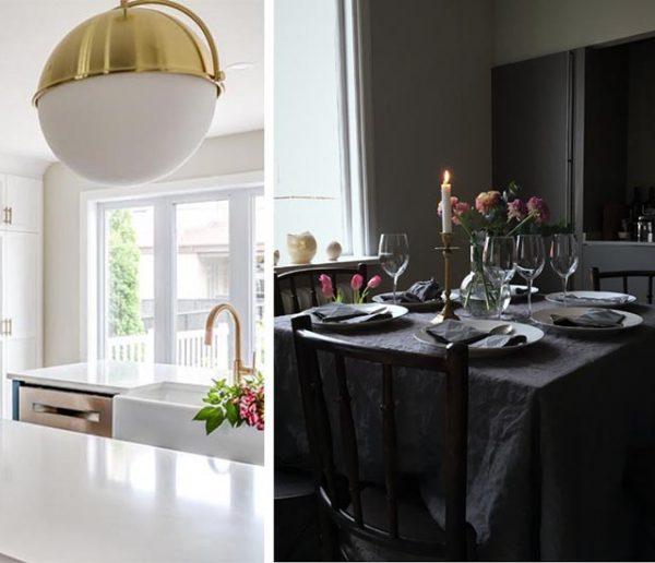 Total look noir ou blanc : 16 inspirations pour une cuisine élégante