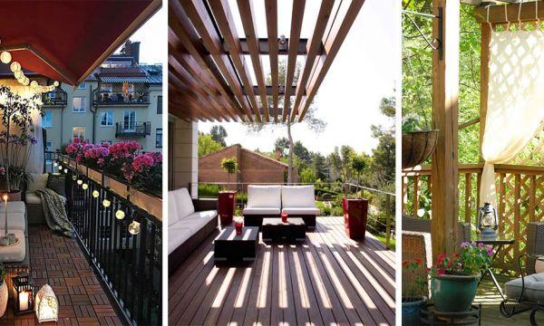Nos conseils de pros pour ombrager efficacement et joliment votre balcon ou petite terrasse