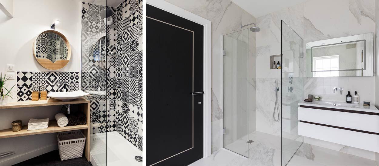 Craquez pour une salle de bains noire et blanche avec ces 14 inspirations