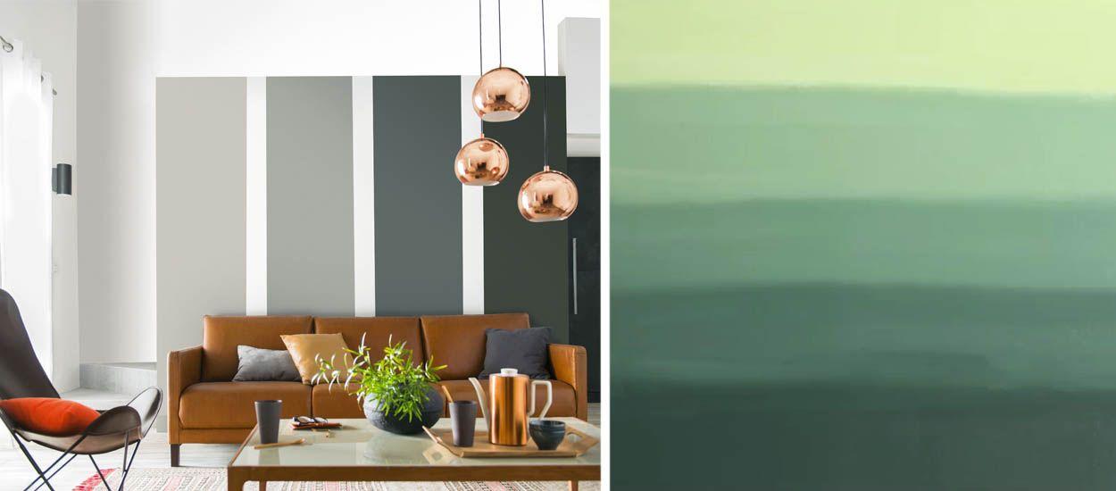 id e d co comment peindre un mur en d grad 2 techniques en vid o. Black Bedroom Furniture Sets. Home Design Ideas