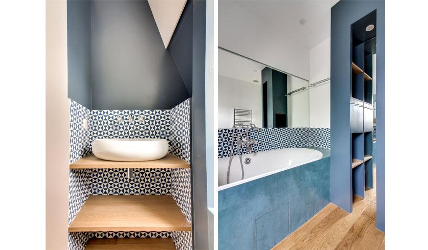 Besoin d 39 id es de couleurs pour votre salle de bains Carrelage de salle de bain tendance