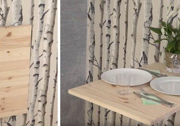 Optimiser L Espace De La Cuisine En Fabriquant Une Table