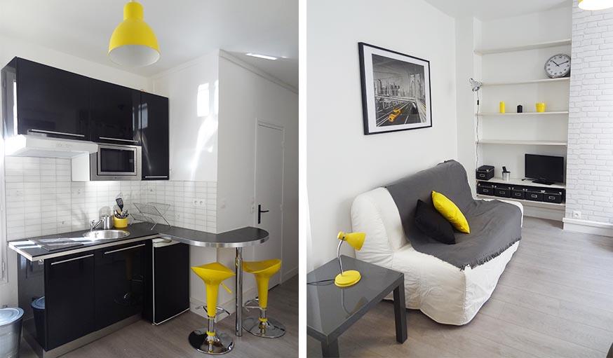 Idees Pour Amenager Un Petit Studio De 20m2 Dans Le Salon Ou La