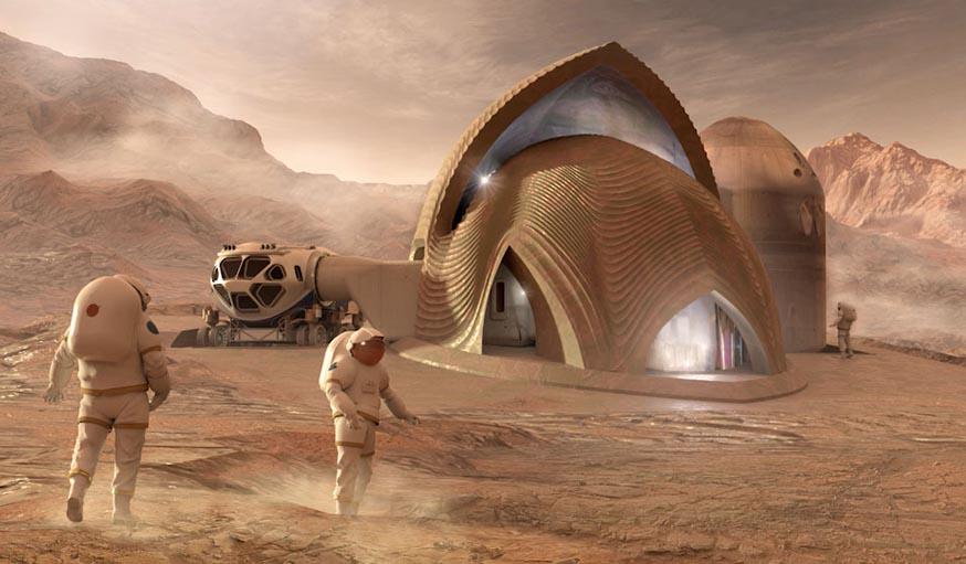 Concours 3D Printed Habitat Challenge de la NASA