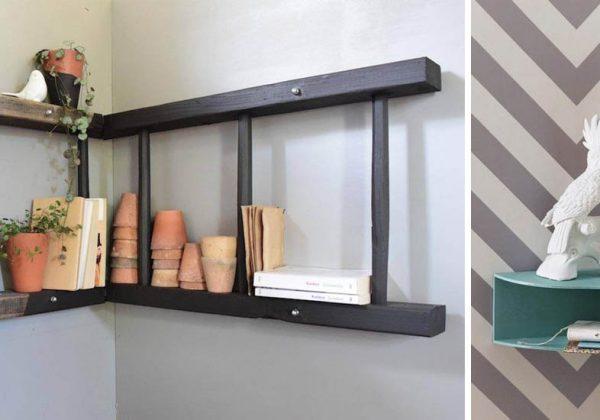 14 idées pour aménager un angle de mur - Étagères et meubles d\'angle