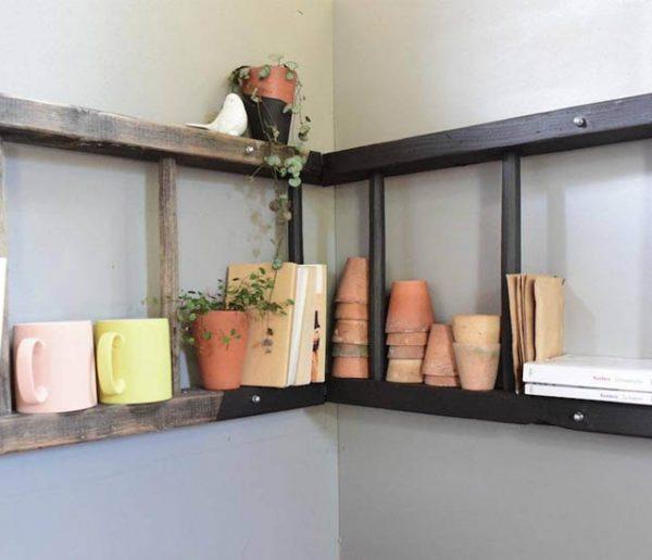 14 idées d'étagères murales et de meubles pour optimiser les coins chez vous !