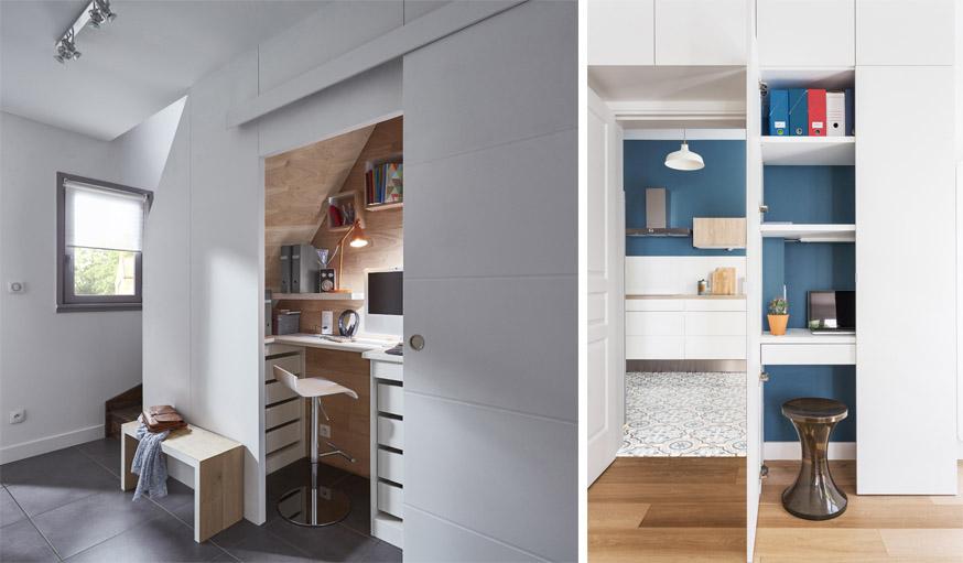 Aménagement pratique astuces pour créer un petit espace bureau