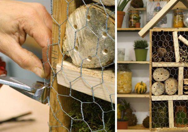 Construire maison insectes ventana blog - Construire une maison pour insectes ...