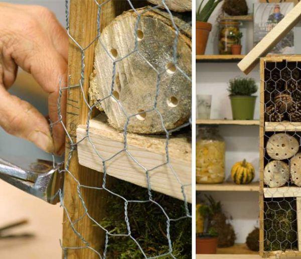 Tuto : Fabriquez un hôtel à insectes et favorisez la biodiversité dans votre jardin