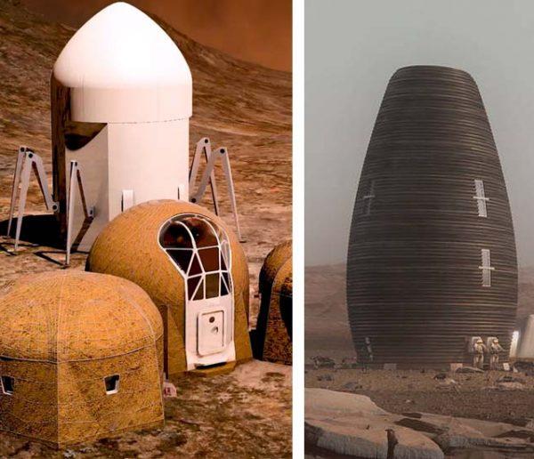 À quoi ressembleront nos maisons sur Mars ? La NASA a voté !