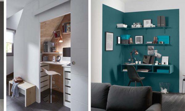 15 idées pratiques pour aménager un coin bureau dans un petit espace