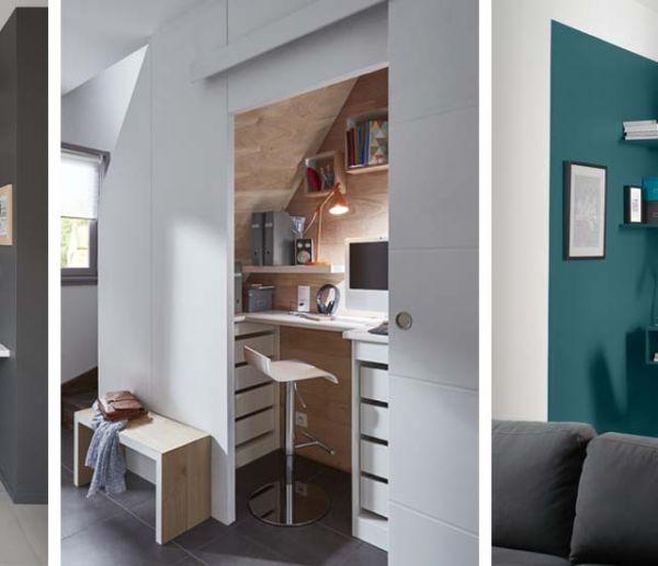 inspiration d co pour am nager un bureau la maison les plus beaux bureaux. Black Bedroom Furniture Sets. Home Design Ideas