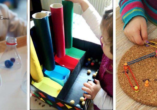 Pédagogie Montessori 20 Jeux Et Activités Diy Pour Enfants