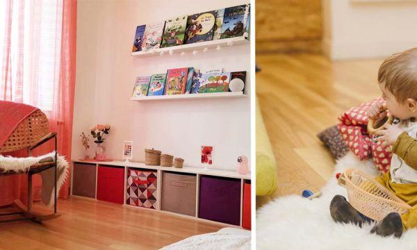 Conseils de pros pour aménager une chambre Montessori