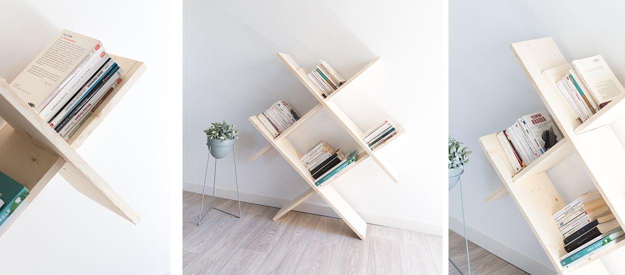 Tuto : Fabriquez votre bibliothèque design pour 20 euros seulement