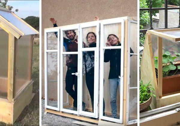 8 Idées Pour Fabriquer Une Serre Avec Des Fenêtres En Tunnel Ou Pas