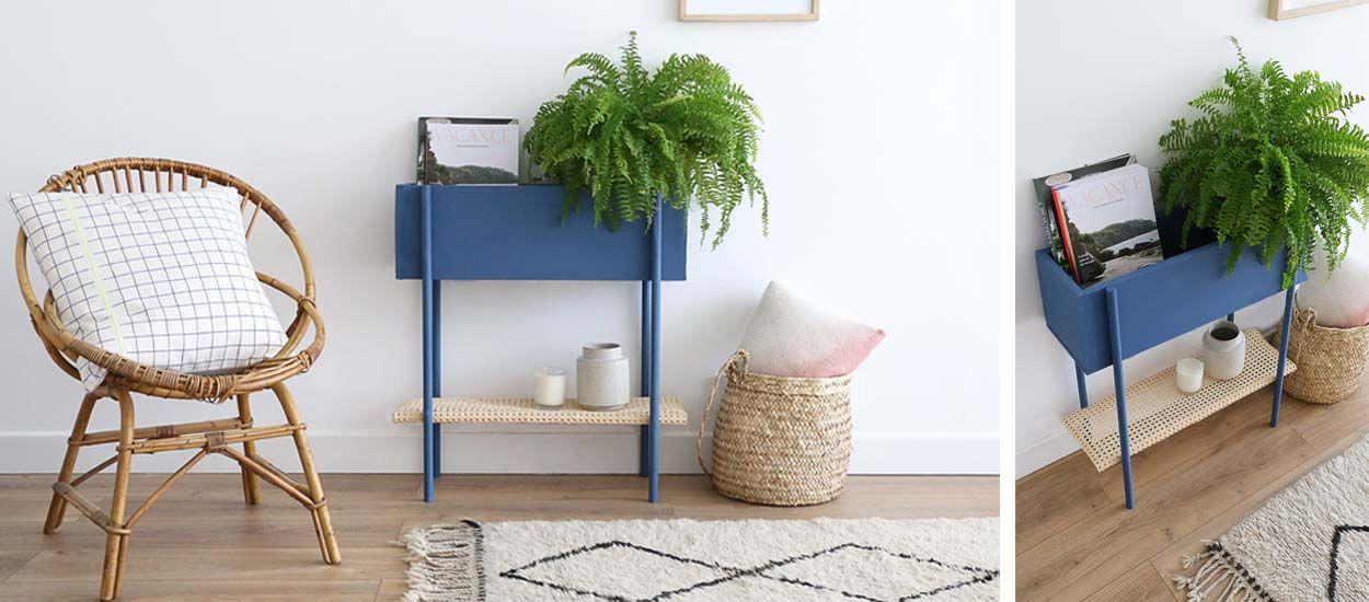 Tuto : Fabriquez un meuble de rangement deux en un pour votre entrée