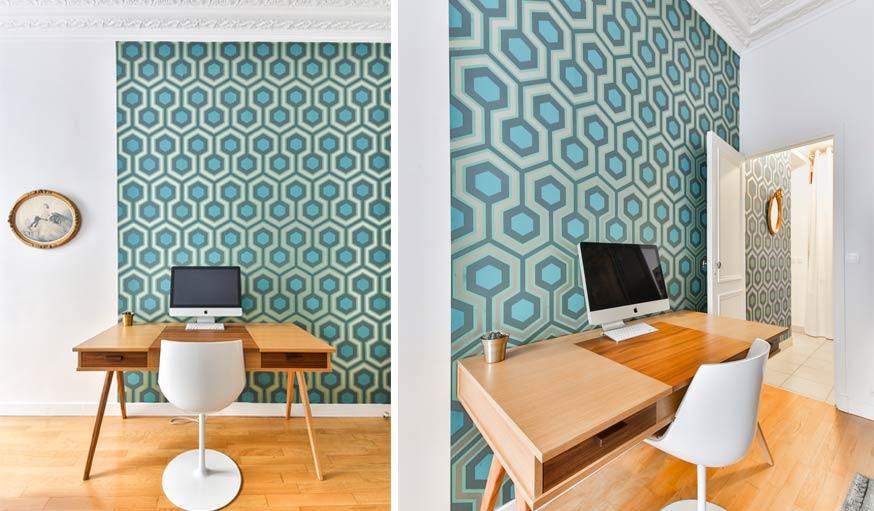 astuces peinture pour donner de la hauteur une pi ce visuellement. Black Bedroom Furniture Sets. Home Design Ideas