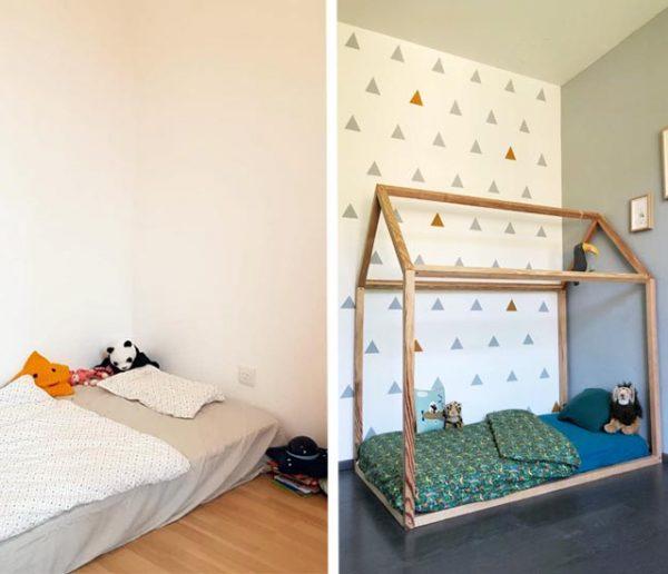 Ils ont testé le lit Montessori pour leur enfant : comment cela se passe-t-il au quotidien ?