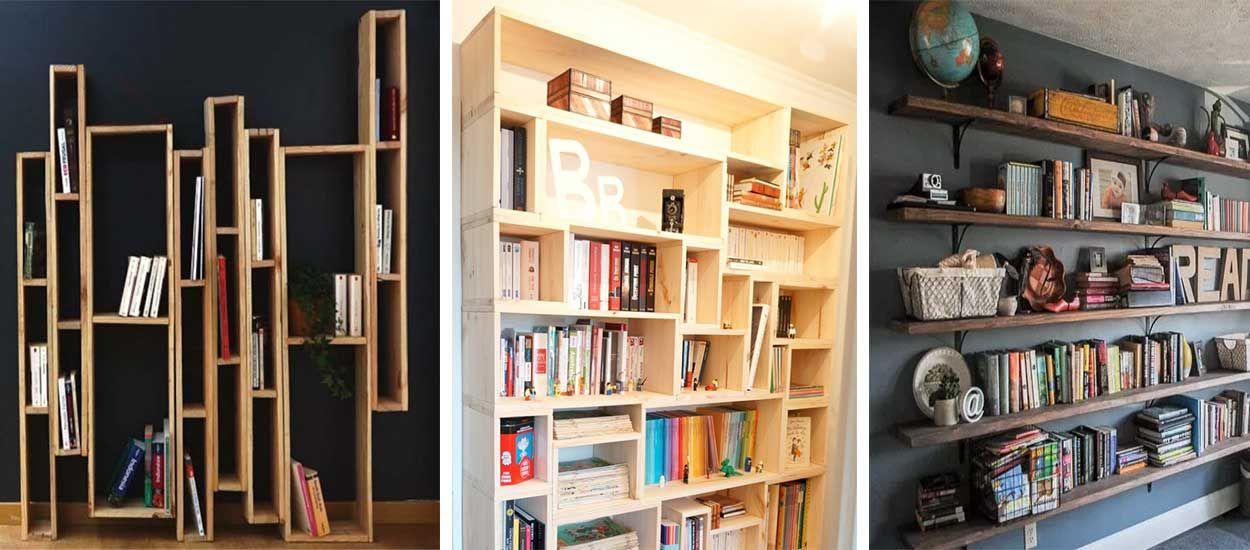 Extraordinaire DIY : 13 tutoriels pour construire une bibliothèque originale et &BP_18