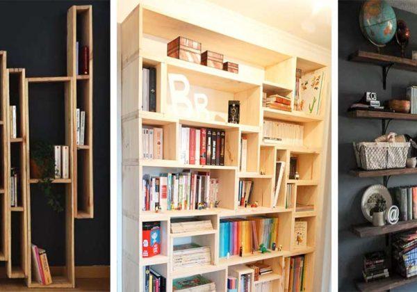 Diy 13 Tutoriels Pour Construire Une Bibliothèque Originale Et Pas