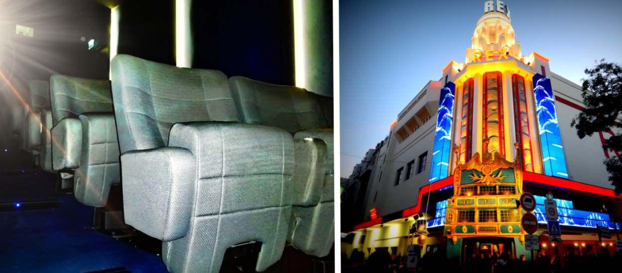 fauteuils de cin ma d 39 occasion le grand rex vend ses si ges pas cher. Black Bedroom Furniture Sets. Home Design Ideas