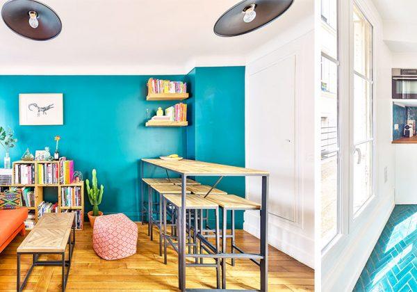Inspiration Deco Renovation D Un Petit Appartement Parisien Style