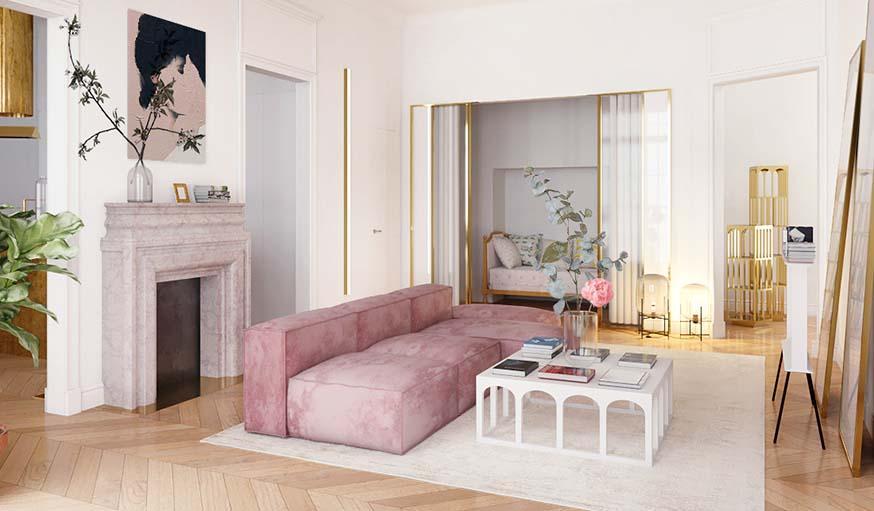 Les tendances 2019 pour votre salon - Décoration intérieur ...