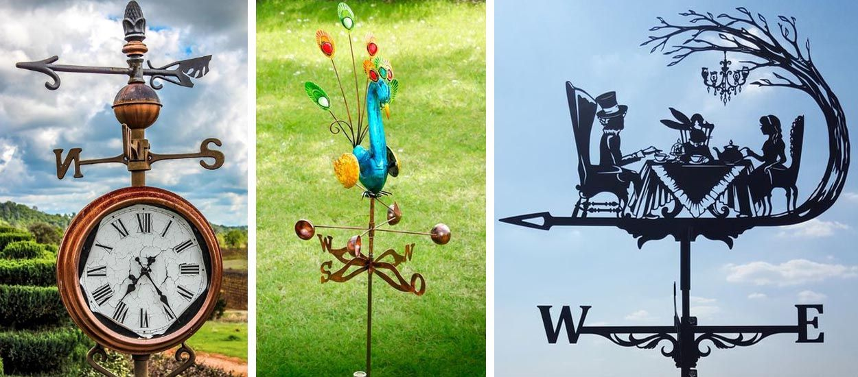 Les plus belles girouettes à installer dans votre jardin pour être dans la tendance