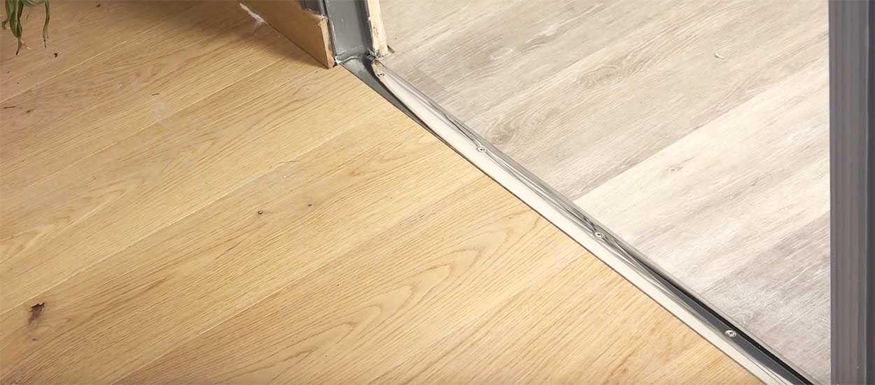 Tuto : Apprenez à poser une barre de seuil de porte très facilement