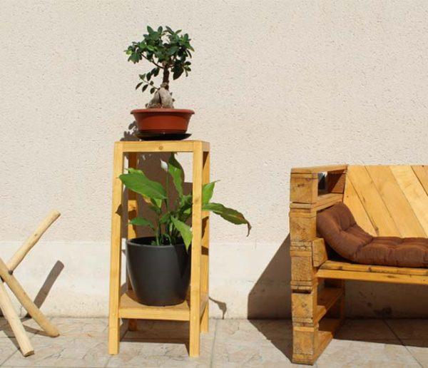 Tuto : Fabriquez un joli support en bois pour mettre en valeur vos plantes