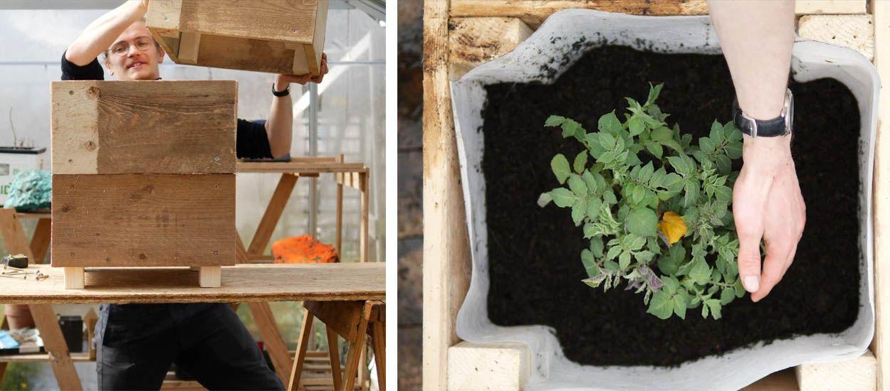 Tuto : Construisez une tour à patates, idéale pour les balcons et terrasses