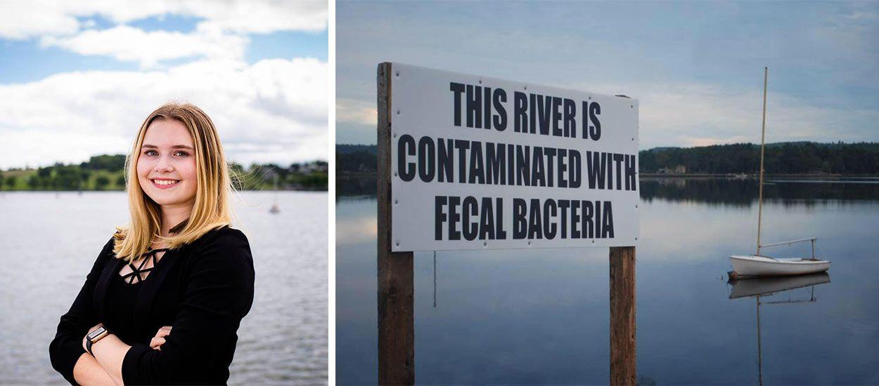 À 14 ans, elle lève 15 millions de dollars pour nettoyer le fleuve en bas de chez elle