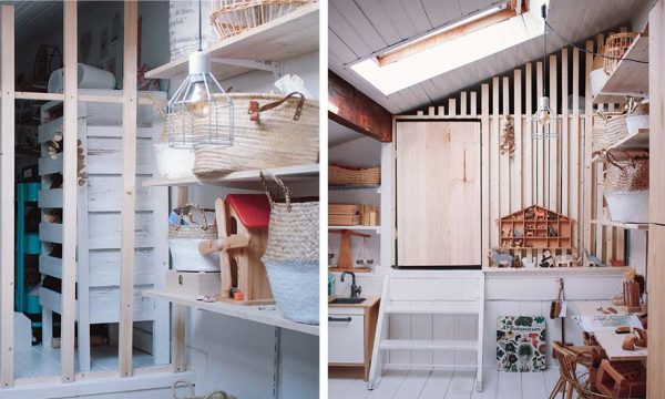 Avant / Après : Une cloison ajourée à moins de 50 euros pour une chambre d'enfant au top !