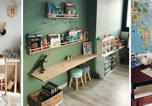 7 idées et inspirations pour décorer le coin bureau de votre ...