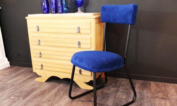 Tuto : Relookez une vieille chaise avec du velours
