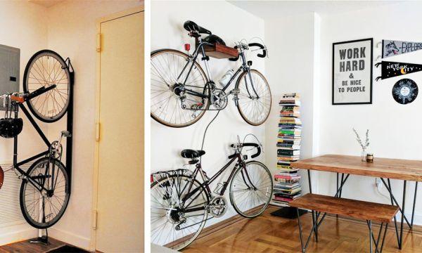 7 conseils de pro pour ranger son vélo en appartement et gagner de la place !