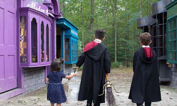 Ces super parents ont recréé le Chemin de Traverse d'Harry Potter pour leur fille !