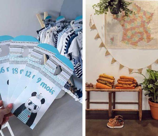 13 astuces pour ranger et organiser les vêtements de bébé