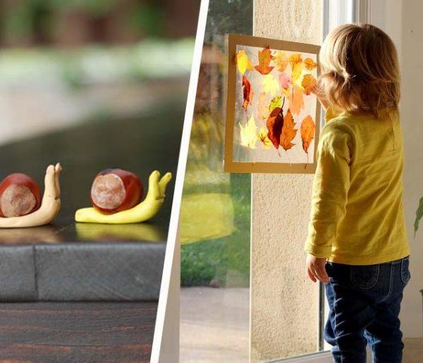 Marrons, feuilles d'automne et pommes de pin : 10 activités à faire avec les enfants