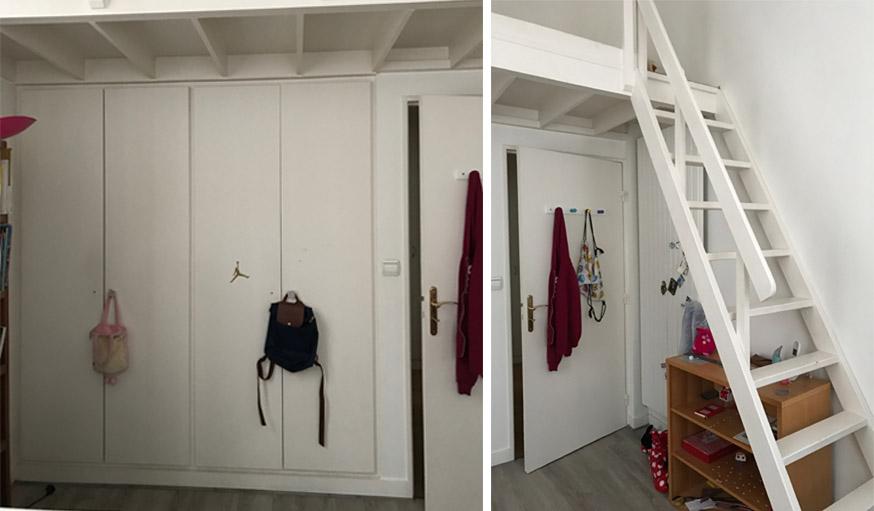 Avant / Après : une chambre de petite fille transformée en ...