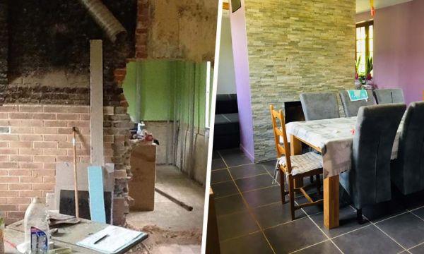 Ils ont entièrement rénové une vieille maison pour 30 000 euros seulement