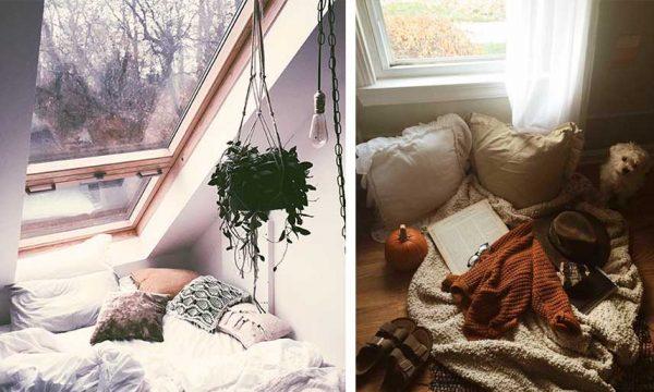 12 idées pour aménager un coin cocooning près de la fenêtre