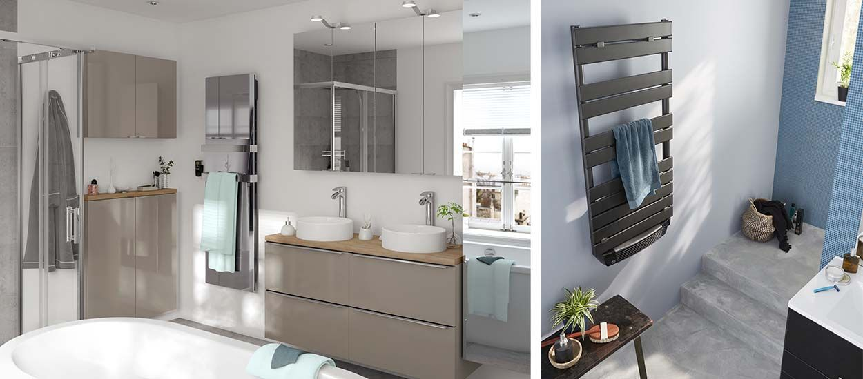 Comment bien choisir le sèche-serviette de votre salle de bains ?