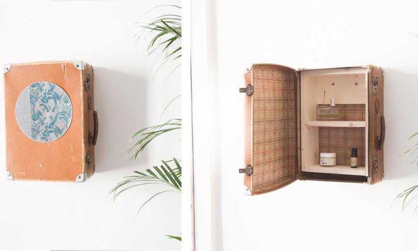 Tuto : Fabriquez une armoire vintage à partir d'une valisette pour une poignée d'euros