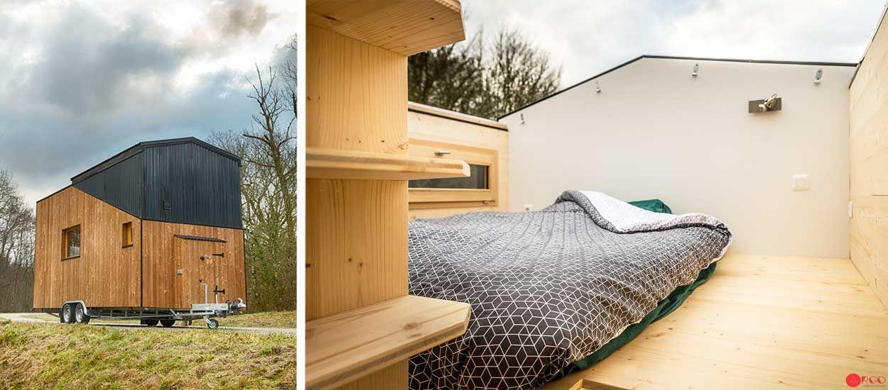 Stéphanie a réalisé son rêve : vivre dans une tiny house avec vue sur les étoiles