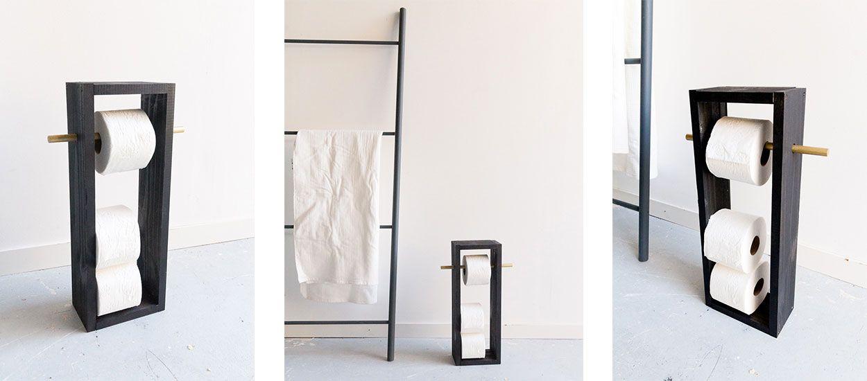 Tuto : Fabriquez un range papier toilette assorti à votre déco pour 10 euros seulement