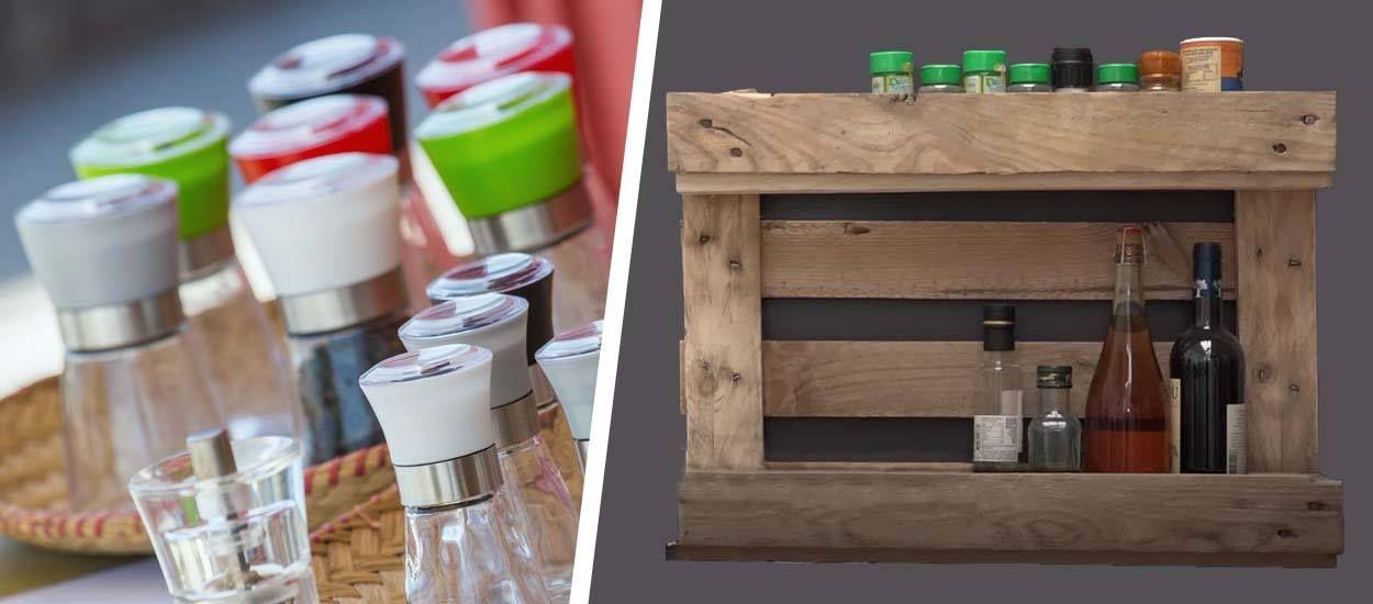 Tuto : Fabriquez une étagère en palette pour enfin ranger toutes vos épices !